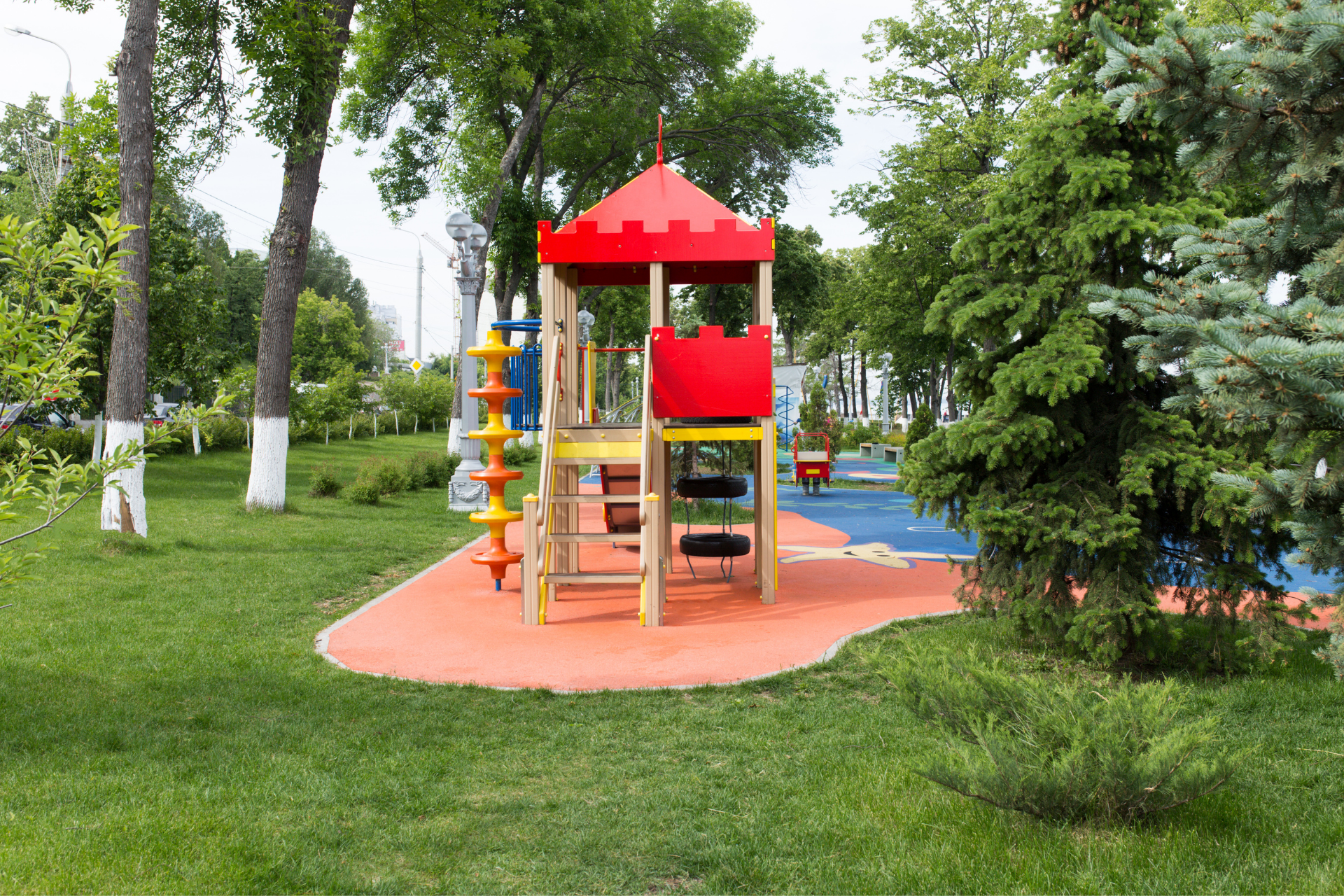 Landscaping design for home daycare
